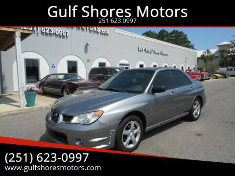 2007 Subaru Impreza for sale at Gulf Shores Motors in Gulf Shores AL