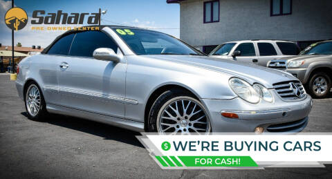 2005 Mercedes-Benz CLK for sale at Sahara Pre-Owned Center in Phoenix AZ