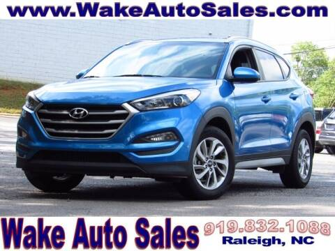 2018 Hyundai Tucson for sale at Wake Auto Sales Inc in Raleigh NC