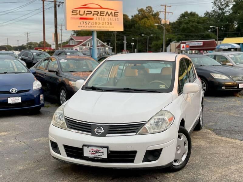 2009 Nissan Versa for sale at Supreme Auto Sales in Chesapeake VA