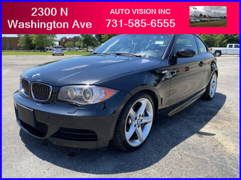 2009 BMW 1 Series for sale at Auto Vision Inc. in Brownsville TN