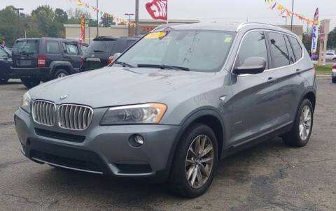 2013 BMW X3 for sale at L&M Auto Import in Gastonia NC