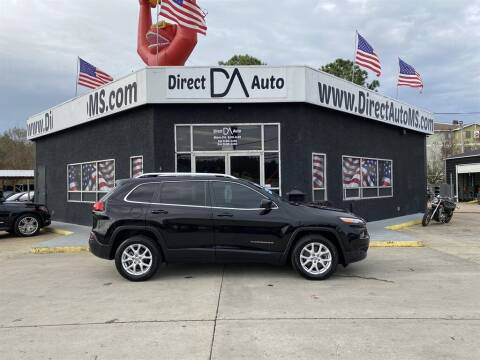 2018 Jeep Cherokee for sale at Direct Auto in D'Iberville MS