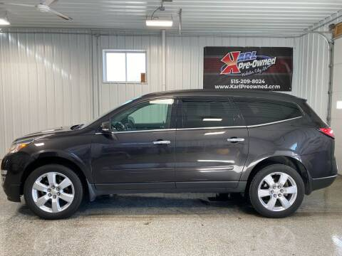2017 Chevrolet Traverse for sale at Karl Pre-Owned - Webster City in Webster City IA