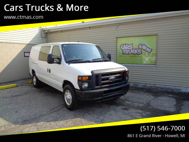 2010 Ford E-Series Cargo for sale at Cars Trucks & More in Howell MI