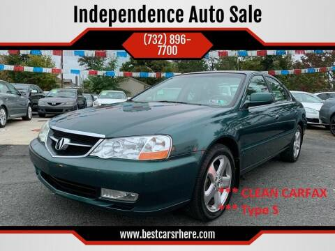 2002 Acura TL for sale at Independence Auto Sale in Bordentown NJ