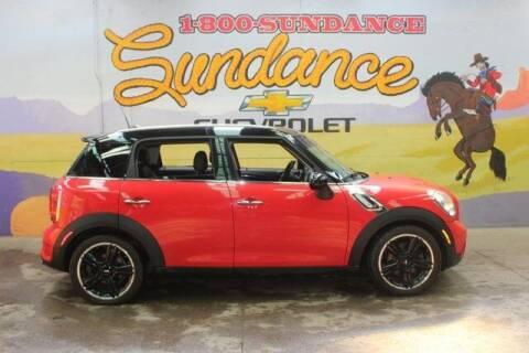 2011 MINI Cooper Countryman for sale at Sundance Chevrolet in Grand Ledge MI