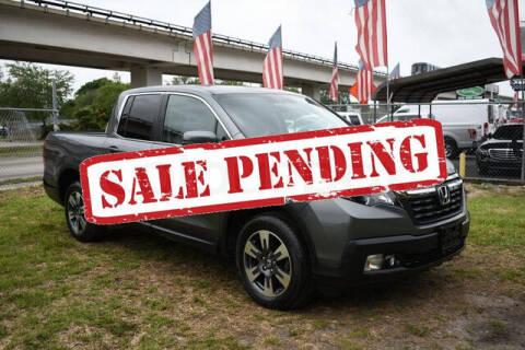 2019 Honda Ridgeline for sale at ELITE MOTOR CARS OF MIAMI in Miami FL