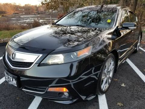 2013 Acura TL for sale at Ultra Auto Center in North Attleboro MA