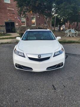 2012 Acura TL for sale at EBN Auto Sales in Lowell MA