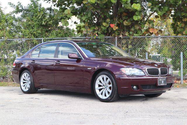 2007 BMW 7 Series for sale at No 1 Auto Sales in Hollywood FL