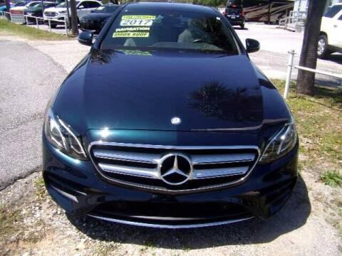 2017 Mercedes-Benz E-Class for sale at Auto Brokers in Gulf Breeze FL