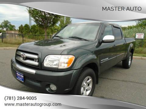 2006 Toyota Tundra for sale at Master Auto in Revere MA