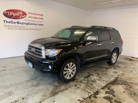 2016 Toyota Sequoia for sale at The Car Buying Center in St Louis Park MN