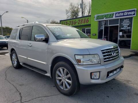 2010 Infiniti QX56 for sale at Empire Auto Group in Indianapolis IN