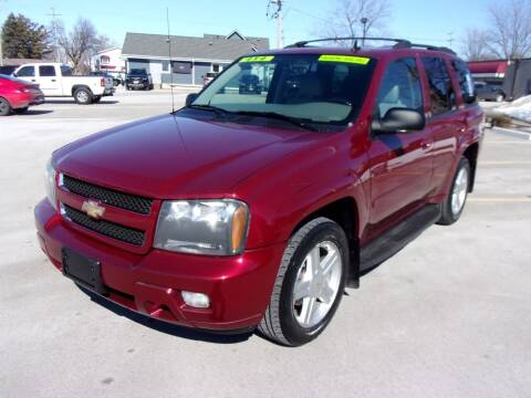 2008 Chevrolet TrailBlazer for sale at Ideal Auto Sales, Inc. in Waukesha WI