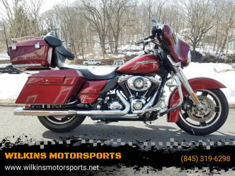 2009 Harley-Davidson Street Glide for sale at WILKINS MOTORSPORTS in Brewster NY