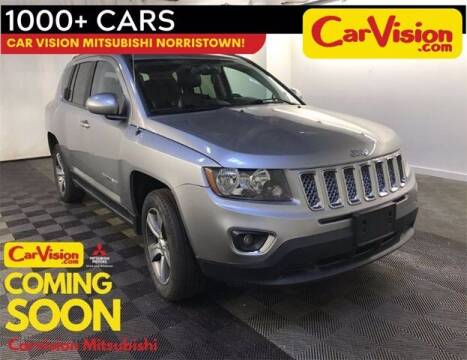 2016 Jeep Compass for sale at Car Vision Buying Center in Norristown PA
