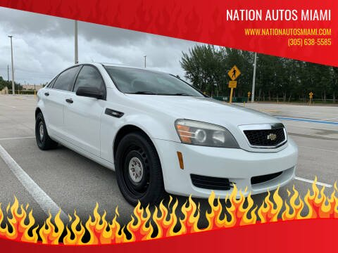2013 Chevrolet Caprice for sale at Nation Autos Miami in Hialeah FL