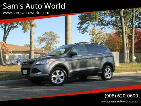 2013 Ford Escape for sale at Sam's Auto World in Roselle NJ