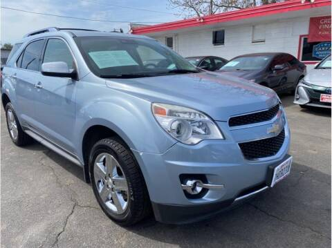 2015 Chevrolet Equinox for sale at Dealers Choice Inc in Farmersville CA