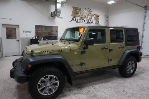 2013 Jeep Wrangler Unlimited for sale at Elite Auto Sales in Idaho Falls ID