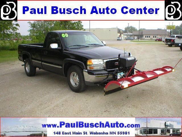 2000 GMC Sierra 1500 for sale at Paul Busch Auto Center Inc in Wabasha MN