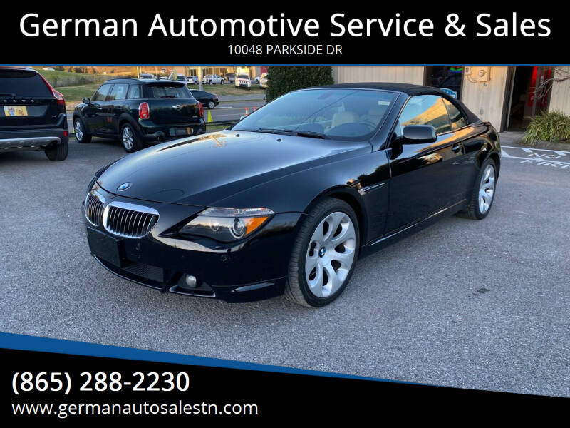 2007 BMW 6 Series for sale at German Automotive Service & Sales in Knoxville TN