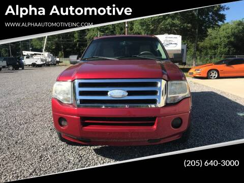 2008 Ford Expedition for sale at Alpha Automotive in Odenville AL