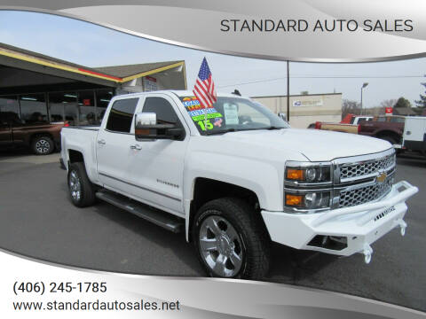 2015 Chevrolet Silverado 1500 for sale at Standard Auto Sales in Billings MT