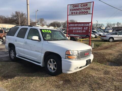 2002 GMC Yukon for sale at OKC CAR CONNECTION in Oklahoma City OK