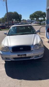 2005 Hyundai Sonata for sale at Eshaal Cars of Texas in Houston TX