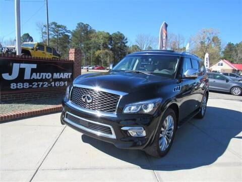 2017 Infiniti QX80 for sale at J T Auto Group in Sanford NC