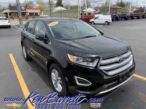 2017 Ford Edge for sale at KEN BARRETT CHEVROLET CADILLAC in Batavia NY