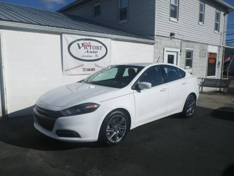 2013 Dodge Dart for sale at VICTORY AUTO in Lewistown PA