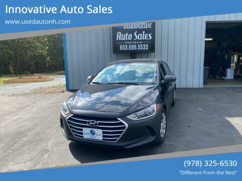 2017 Hyundai Elantra for sale at Innovative Auto Sales in North Hampton NH