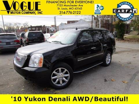 2010 GMC Yukon for sale at Vogue Motor Company Inc in Saint Louis MO