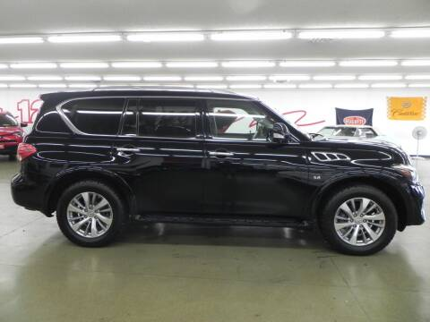 2015 Infiniti QX80 for sale at 121 Motorsports in Mount Zion IL