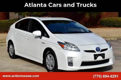 2010 Toyota Prius for sale at Atlanta Cars and Trucks in Kennesaw GA