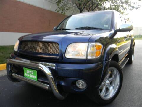 2004 Toyota Tundra for sale at Dasto Auto Sales in Manassas VA