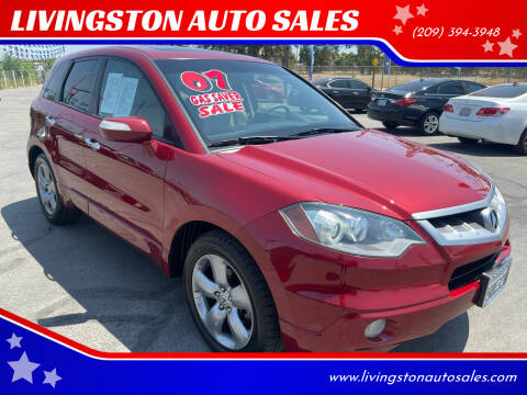2007 Acura RDX for sale at LIVINGSTON AUTO SALES in Livingston CA