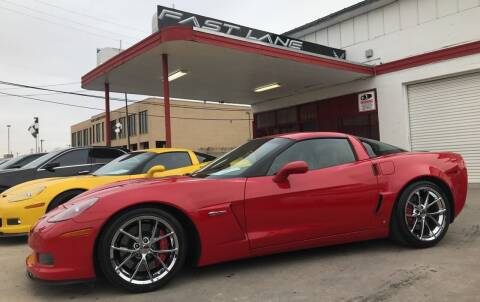 2009 Chevrolet Corvette for sale at FAST LANE AUTO SALES in San Antonio TX