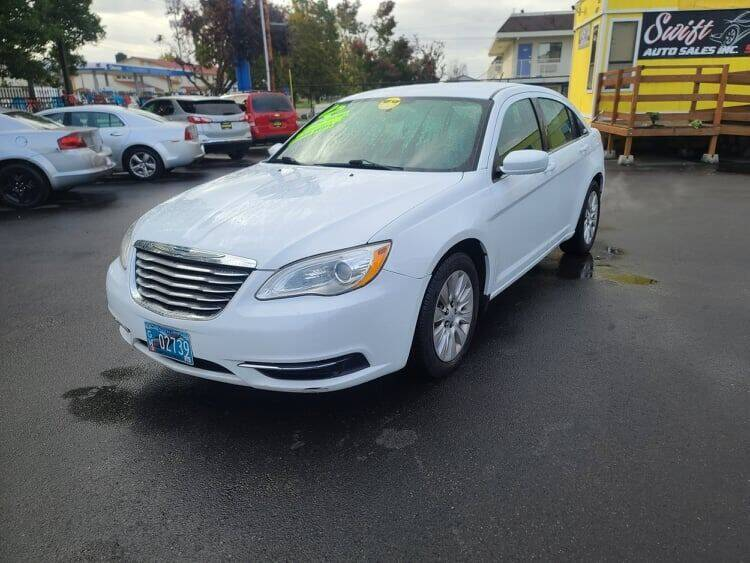 2012 Chrysler 200 for sale at SWIFT AUTO SALES INC in Salem OR