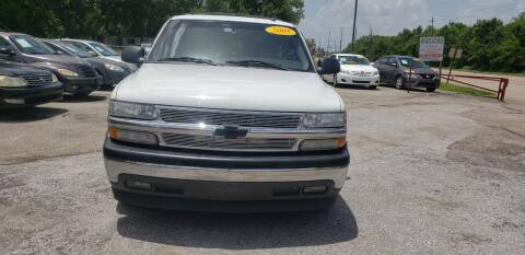 2005 Chevrolet Tahoe for sale at Anthony's Auto Sales of Texas, LLC in La Porte TX