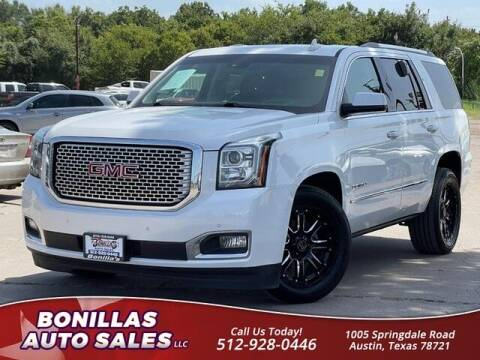 2016 GMC Yukon for sale at Bonillas Auto Sales in Austin TX