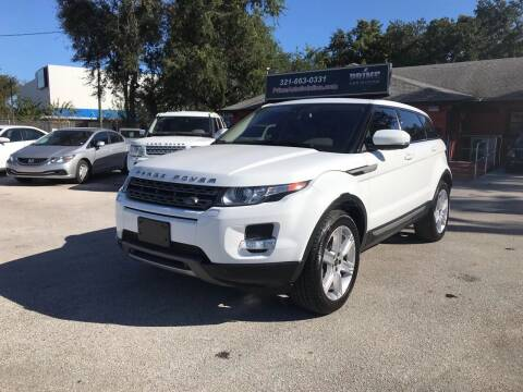 2013 Land Rover Range Rover Evoque for sale at Prime Auto Solutions in Orlando FL