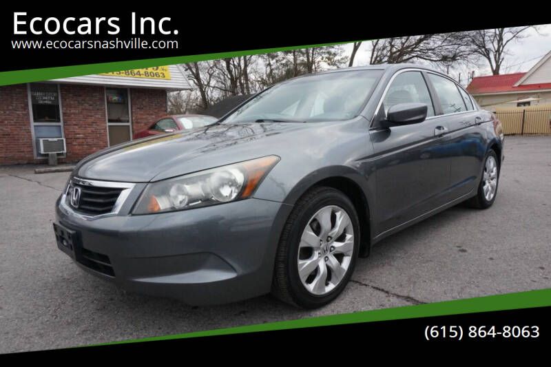 2010 Honda Accord for sale at Ecocars Inc. in Nashville TN