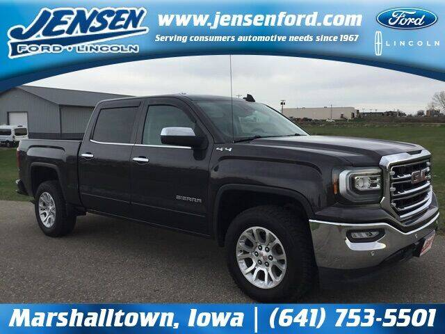 2016 GMC Sierra 1500 for sale at JENSEN FORD LINCOLN MERCURY in Marshalltown IA