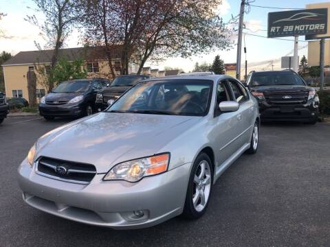 2006 Subaru Legacy for sale at RT28 Motors in North Reading MA