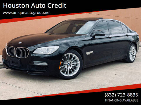 2013 BMW 7 Series for sale at Houston Auto Credit in Houston TX